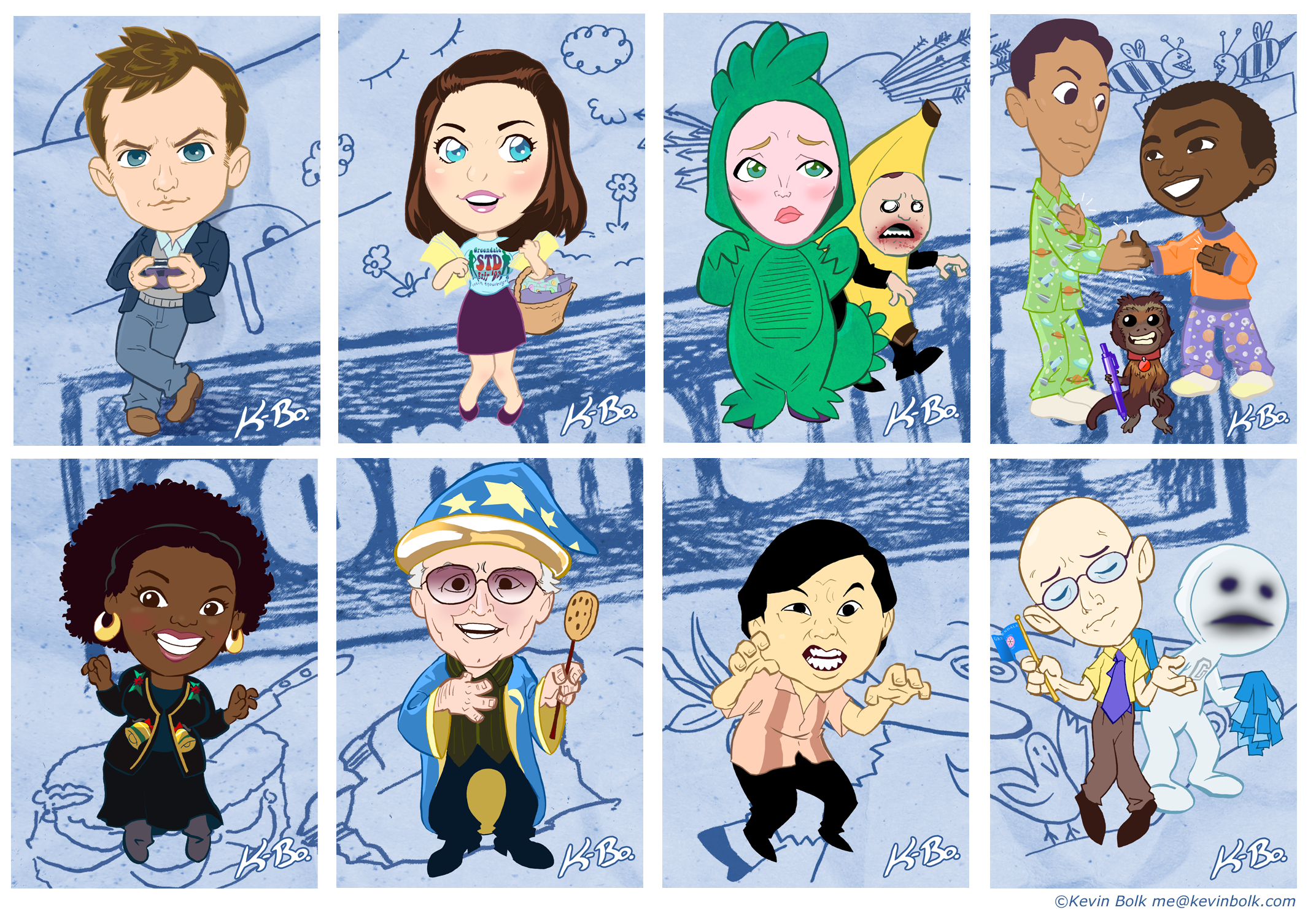 Community Art Card Set by K-Bo. by kevinbolk