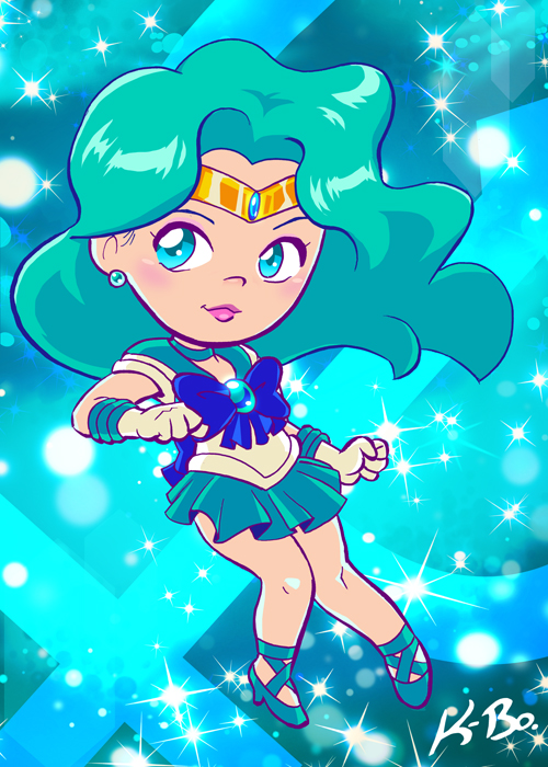 Sailor Neptune by K-Bo. by kevinbolk