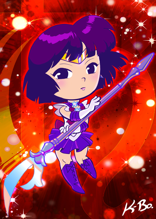 Sailor Saturn by K-Bo. by kevinbolk