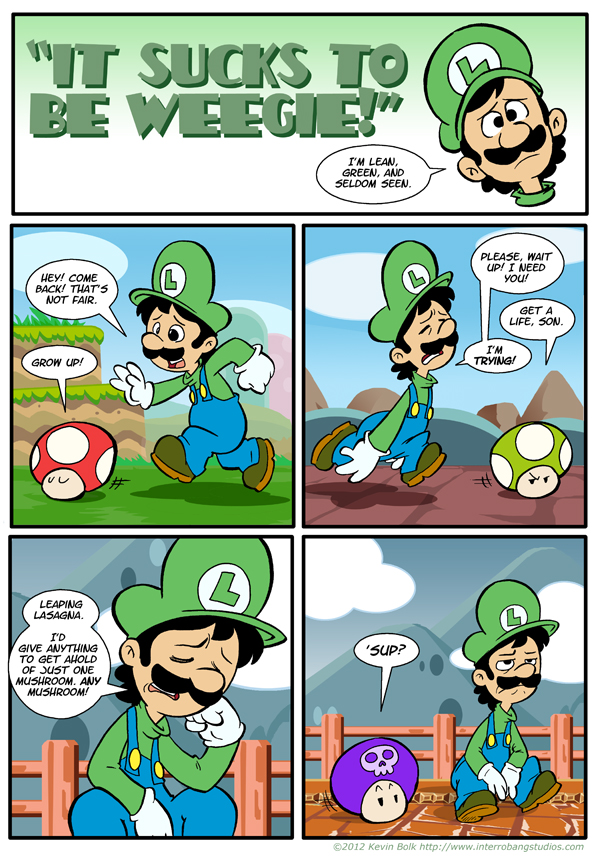 funny mario and luigi jokes-#18