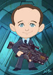 Avengers Agent Phil Coulson Art Card