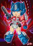 Transformer Gals: Optimiss Prime