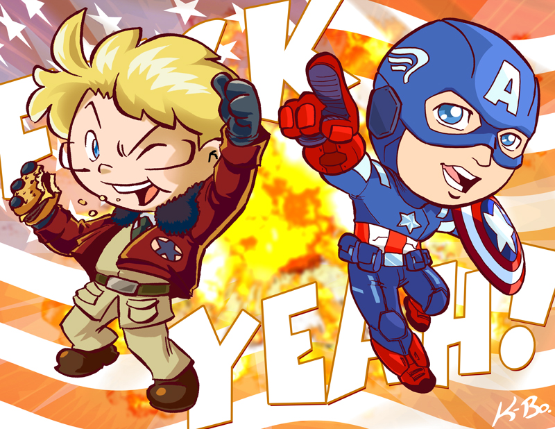 Americas F**K YEAH! by kevinbolk