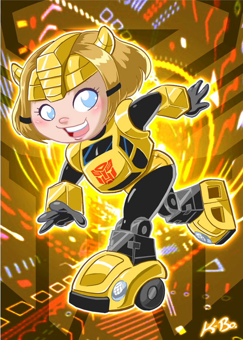 Transformers Gals: BumbleBea by kevinbolk