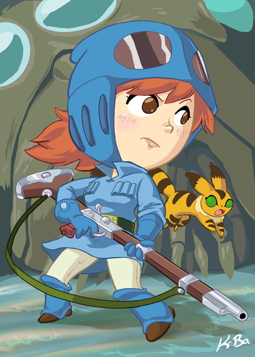 Studio Ghibli: Nausicaa of the Valley of the Wind by kevinbolk