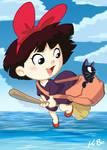 Studio Ghibli: Kiki's Delivery Service Art Card