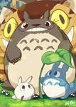 Studio Ghibli: My Neighbor Totoro Art Card