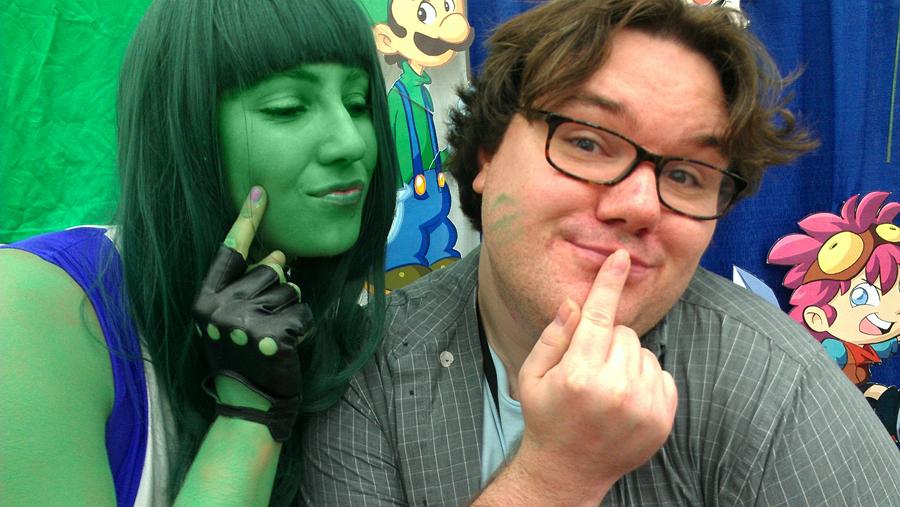 Me and She-Hulk @Otakon 2012 by kevinbolk
