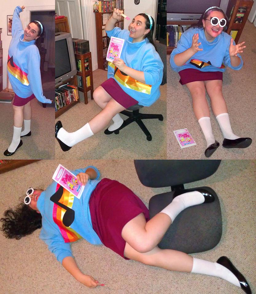 Gravity Falls Mabel Pines Halloween 2012 Costume 2 by kevinbolk