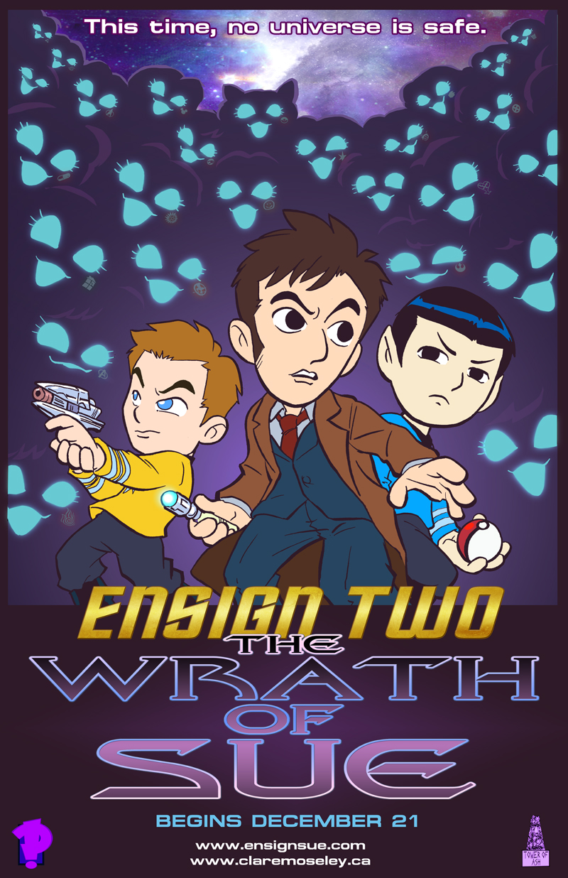 Ensign Two: The Wrath of Sue December 21st by kevinbolk