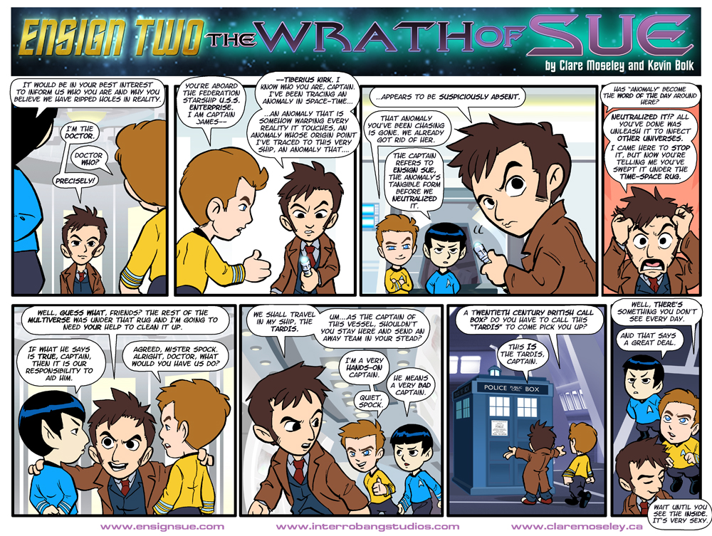 Ensign Two The Wrath of Sue Page 2 by kevinbolk