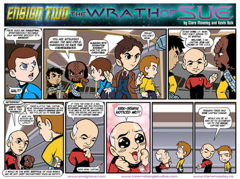 Ensign Two: The Wrath of Sue 11