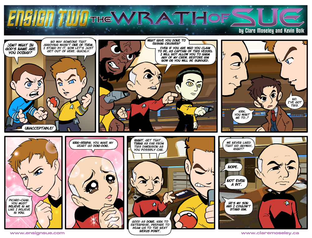 Ensign Two: The Wrath of Sue 13 by kevinbolk