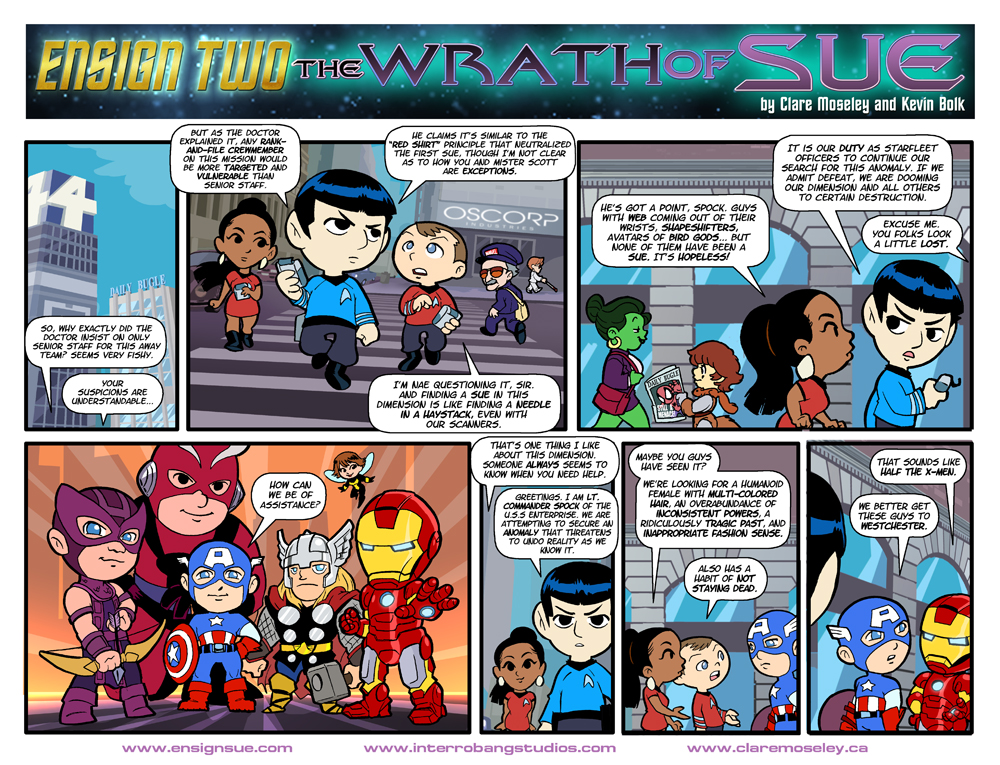 Ensign Two: The Wrath of Sue 14 by kevinbolk