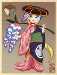 AnimeUSA 2013 Kaede Mascot Design