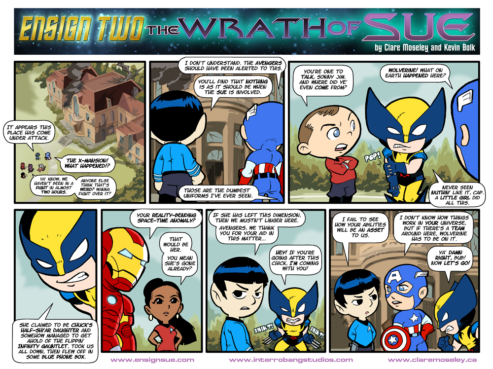 Ensign Two: The Wrath of Sue 15 by kevinbolk