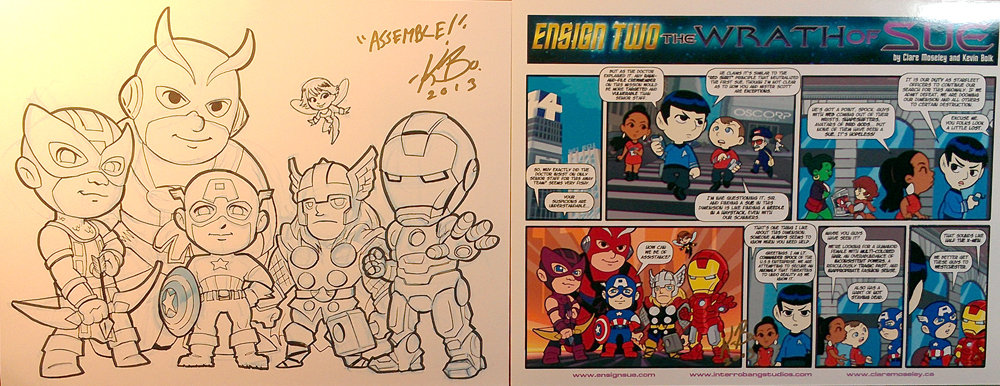 Original art for Anime St Louis charity auction by kevinbolk