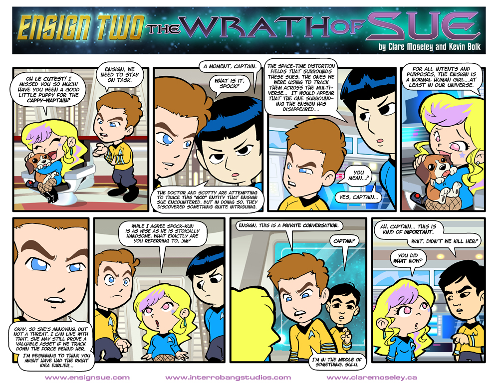 Ensign Two: The Wrath of Sue 25 by kevinbolk