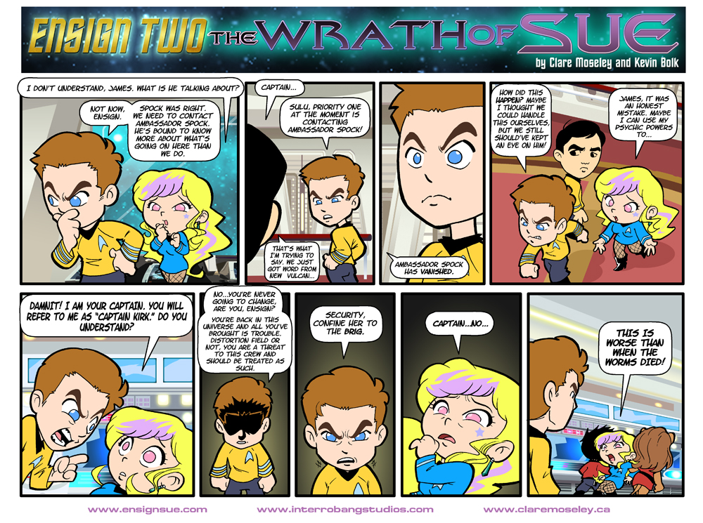 Ensign Two: The Wrath of Sue 26 by kevinbolk