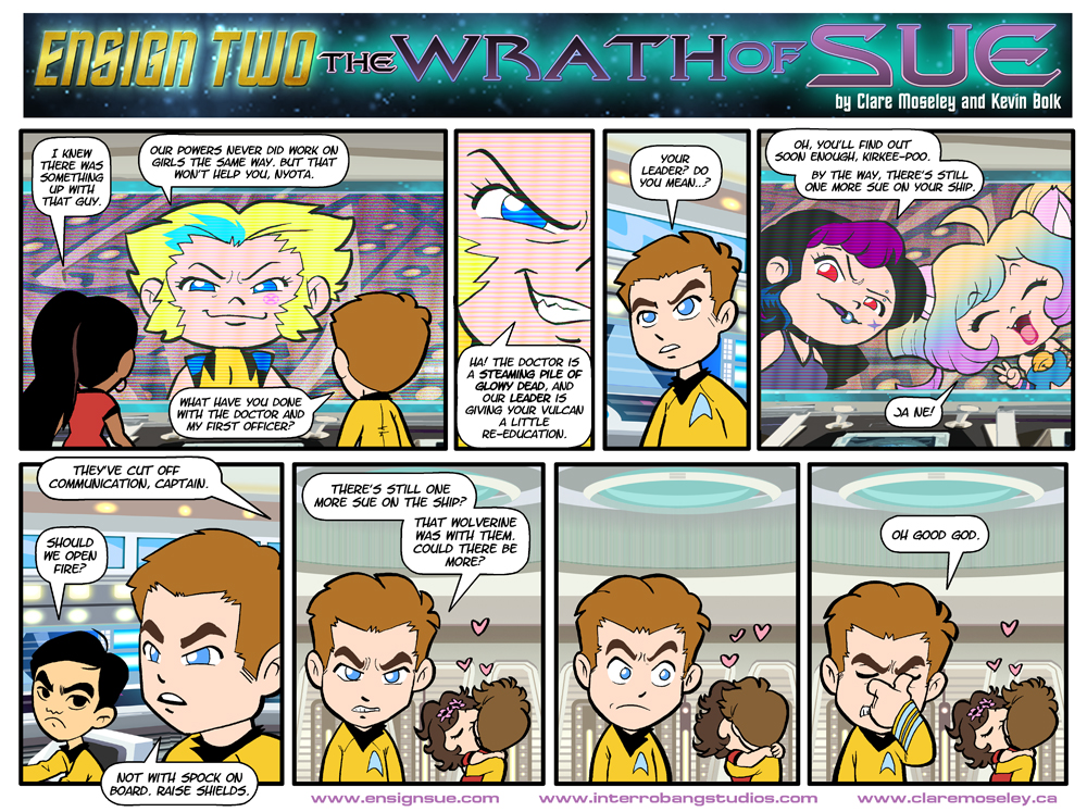 Ensign Two: The Wrath of Sue 32 by kevinbolk