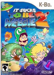 Sucks to be Weegie Book 2 Parody Comic Cover by kevinbolk