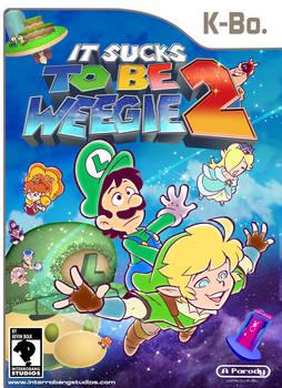 Sucks to be Weegie Book 2 Parody Comic Cover