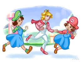 Maria Sisters: 'We'll Save You, Prince!'