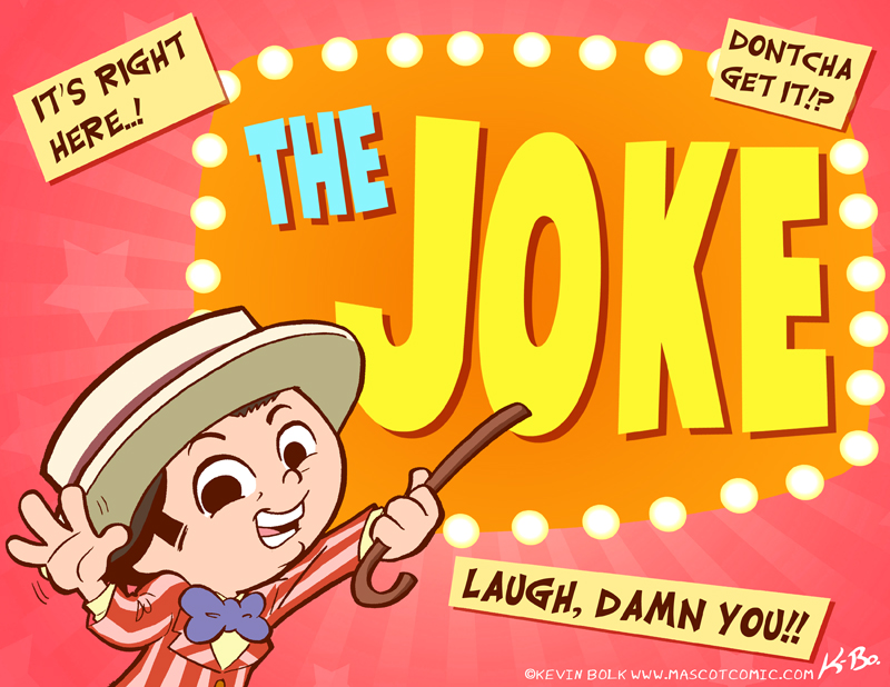 The Joke by kevinbolk