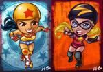 DC VS Marvel Roller Derby: Wonder Woman/Ms Marvel