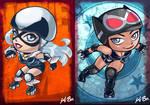 DC VS Marvel Roller Derby: Black Cat/Catwoman