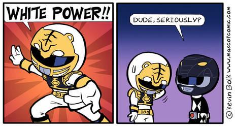 I'm My Own Mascot: Power Rangers