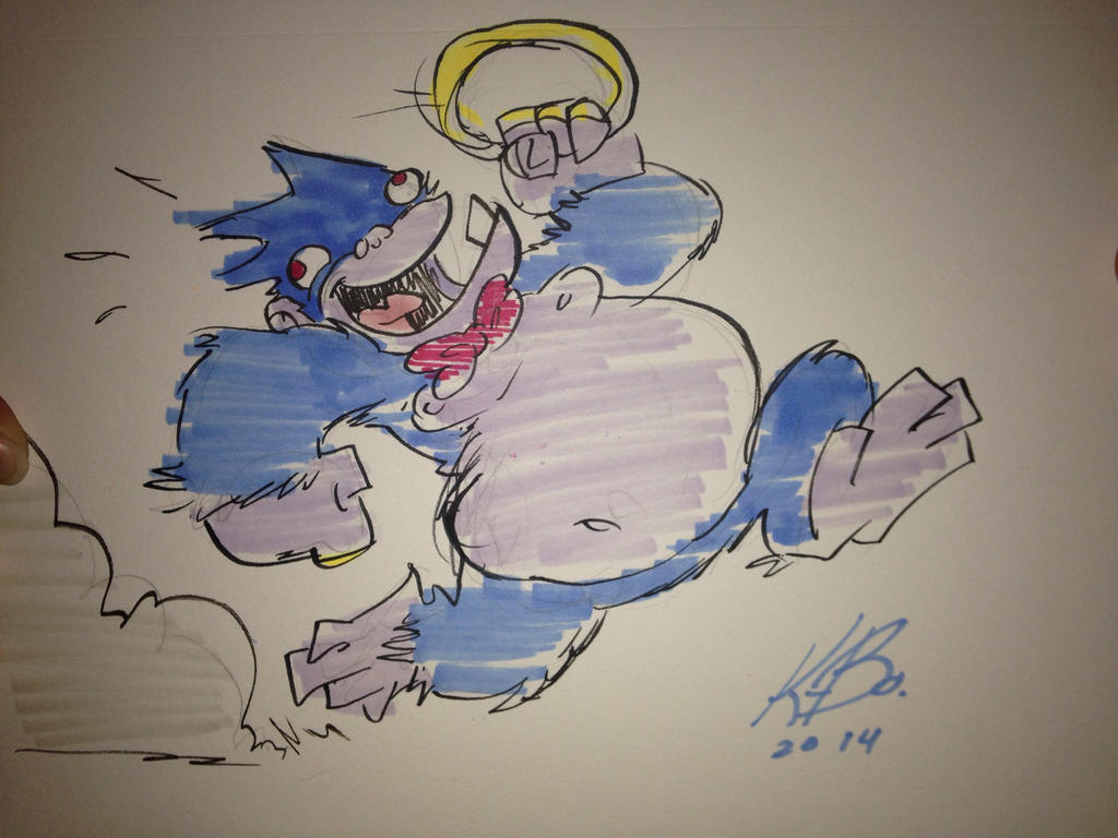 Dankey Kang doodle 2 by kevinbolk