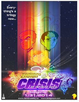 Ensign Cubed: Crisis of Infinite Sues 1/31/2014 by kevinbolk