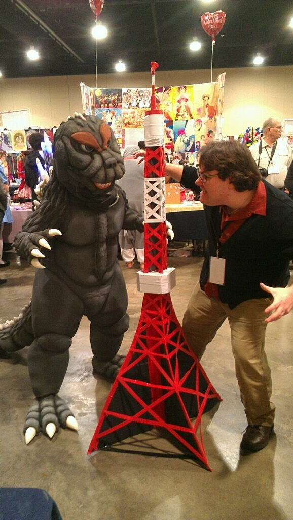Godzilla VS K-Bo. by kevinbolk