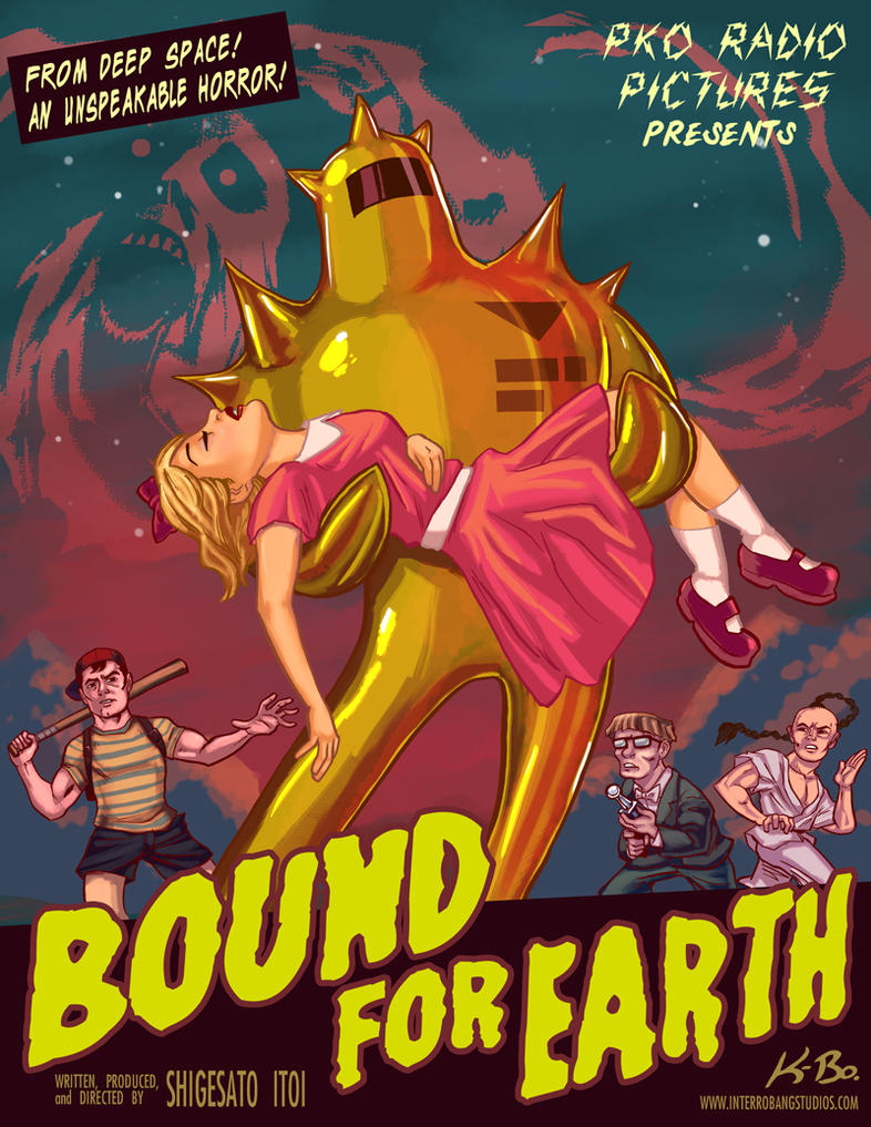 'Bound for the Earth' Poster by kevinbolk
