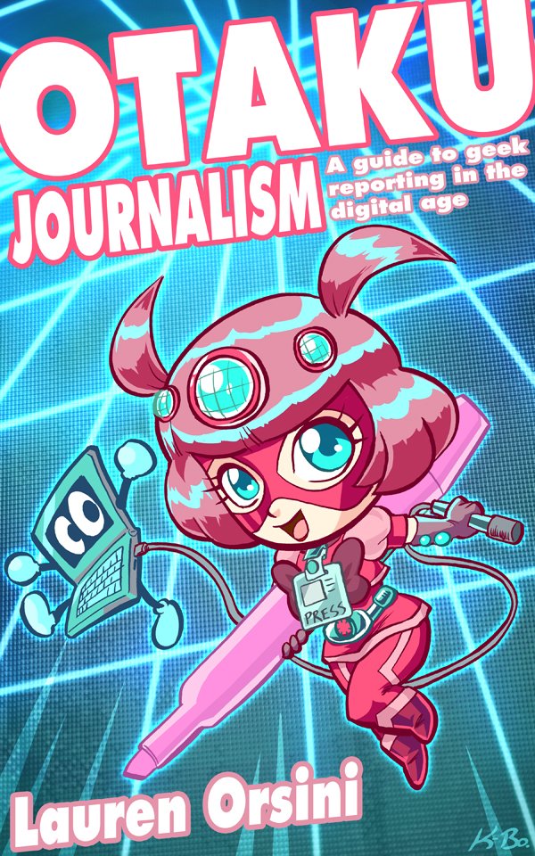 Otaku Journalism Book Cover by kevinbolk