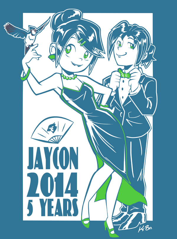 Jaycon 2014 T-shirt Design by kevinbolk