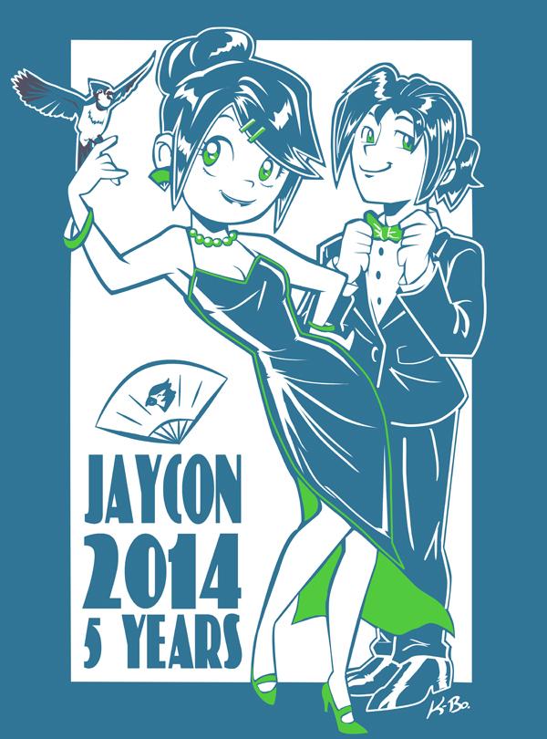 Jaycon 2014 T-shirt Design by kevinbolk