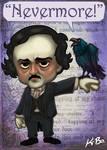 Edgar Allan Poe Art Card