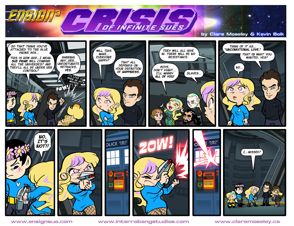 Ensign Cubed Crisis of Infinite Sues 15 by kevinbolk