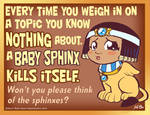 Think of the sphinx