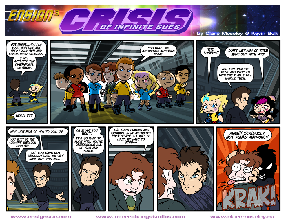 Ensign Cubed Crisis of Infinite Sues 25 by kevinbolk