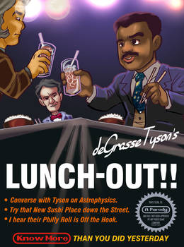 Neil deGrasse Tyson's Lunch-Out