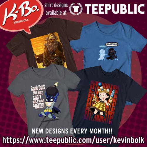 K-Bo. shirts from Teepublic by kevinbolk