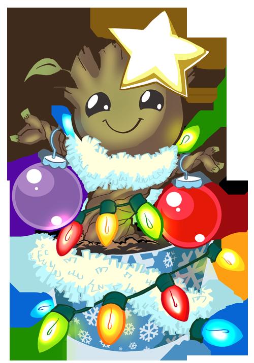 Merry Christmas HeroMachine Character