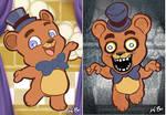 Five Nights at Freddy's Art Card 1 Freddy Fazbear