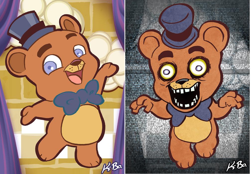 Freddy fazbear camera art card 1 freddy fazbear