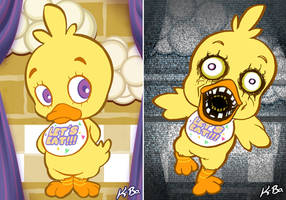 Five Nights at Freddy's Art Card 3 Chica