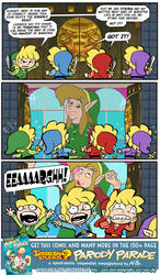 PARODY PARADE: Fair-Haired Adventure Seekers 02 by kevinbolk