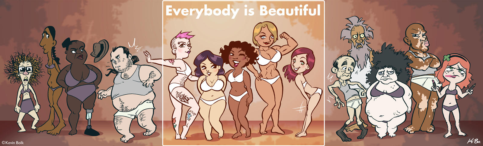 Everybody* Is Beautiful